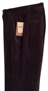 Coldwater Creek Boot Cut Pants dark grape