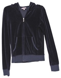Juicy Couture Navy Blue and Gold Jacket