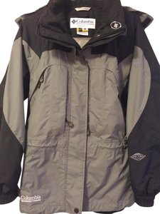 Columbia Waterproof Black and Gray Jacket