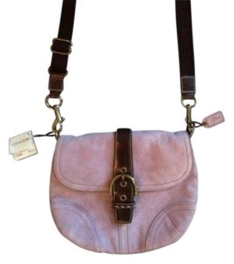 Preload https://item4.tradesy.com/images/coach-lavender-and-brown-cross-body-bag-14033-0-0.jpg?width=440&height=440