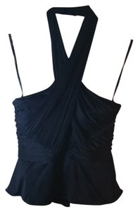 Elie Tahari Black Halter Top