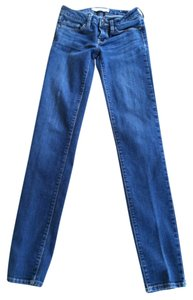 Bullhead Black Skinny Jeans-Light Wash
