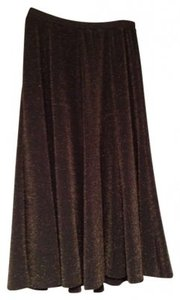 Chico's Skirt Brown/gold