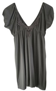 Wet Seal short dress Gray Summer on Tradesy