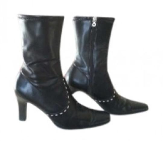 Preload https://item1.tradesy.com/images/tommy-hilfiger-black-mid-calf-bootsbooties-size-us-7-140350-0-0.jpg?width=440&height=440