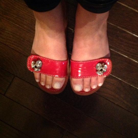 Juicy Couture Red Flats Image 2