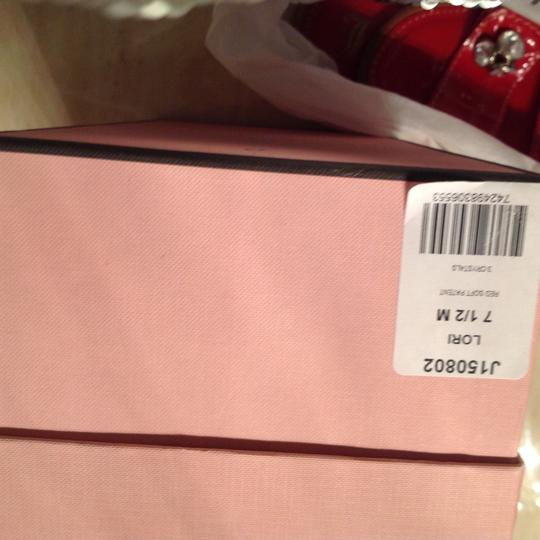 Juicy Couture Red Flats Image 3