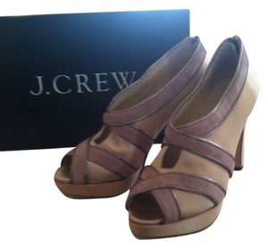 J.Crew Silk Suede Nude/Pink Formal