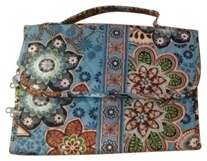 Vera Bradley Blue Travel Bag