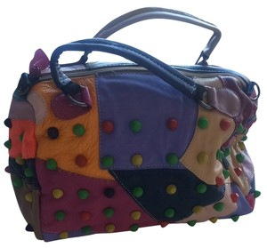 New york designs Satchel in Multi