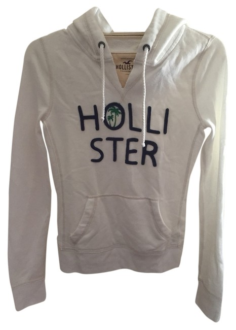 Preload https://item2.tradesy.com/images/hollister-white-sweatshirthoodie-size-4-s-1403656-0-0.jpg?width=400&height=650