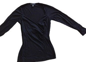 Banana Republic Stretchy Top Black