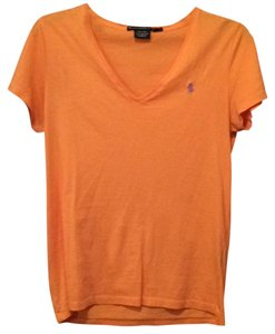 Ralph Lauren T Shirt Peach