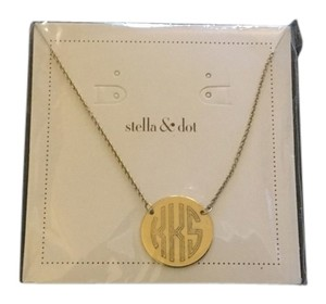 Stella & Dot Signature engravable disc