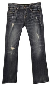 Cult of Individuality Boot Cut Jeans-Distressed