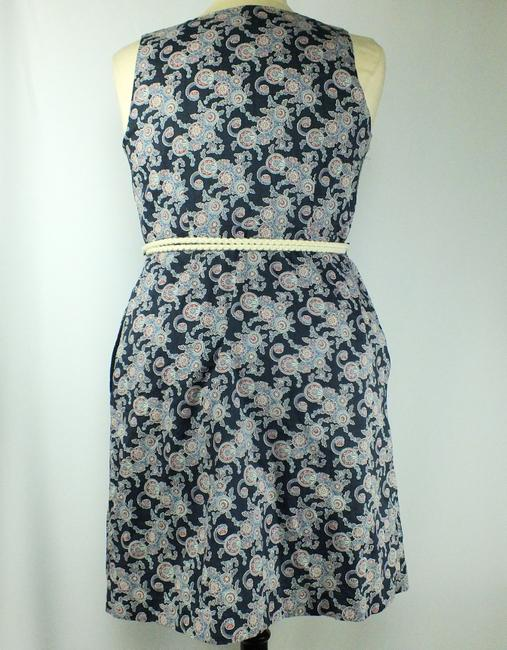 Tommy Hilfiger short dress New Size: Large Blue White & Red Wrap Lined Rope Belt on Tradesy