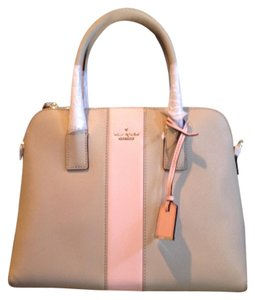Kate Spade Leather Cameron Margot New With Tags Satchel in Clock Tower/Rose