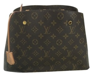 Louis Vuitton Montaigne Speedy Satchel in Monogram