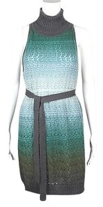 Missoni Knit Ombre Work Green Dress