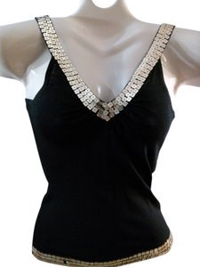 Bizz Sequin Top Black