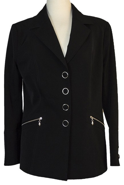 Preload https://img-static.tradesy.com/item/14041378/escada-black-spring-jacket-size-12-l-0-1-650-650.jpg