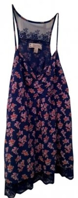 Decree Top Navy floral