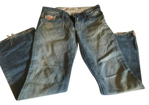 JOE'S Jeans Embroidered Boot Cut Jeans-Distressed