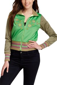 One A Embroidered GREEN Jacket