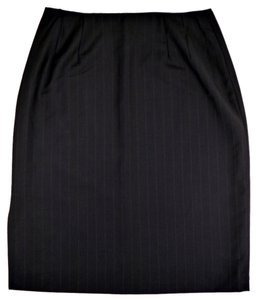Brooks Brothers Skirt Navy Pinstripe