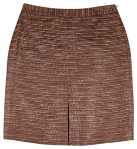 Brooks Brothers Skirt Mauve Tweed
