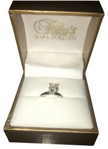 Polly's Fine Jewelry Princess .29 Ct GSI2 Diamond Engagement/Promise Ring
