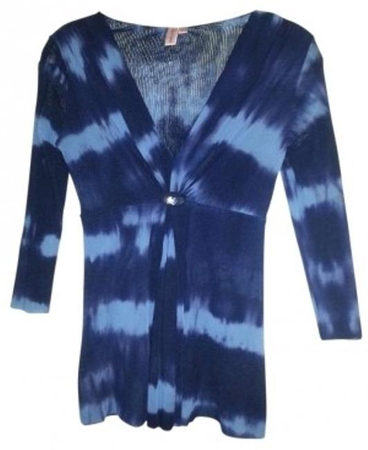 Preload https://item2.tradesy.com/images/sweet-pea-by-stacy-frati-blue-tie-blouse-size-8-m-140471-0-0.jpg?width=400&height=650
