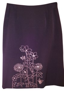 Parisian Signature Skirt Black