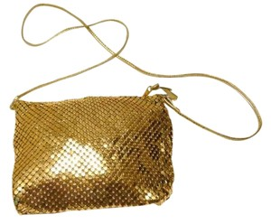 Whiting & Davis ( Whiting and Davis) Metal Shimmer Coach Cross Body Bag