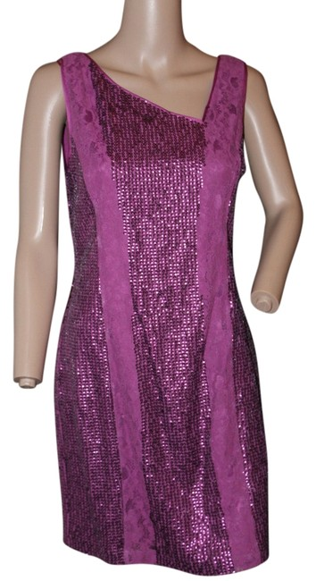 Preload https://img-static.tradesy.com/item/1405076/jessica-simpson-deep-pink-fushsia-by-sheath-lace-and-sequins-cocktail-knee-length-night-out-dress-si-0-0-650-650.jpg