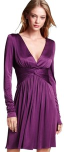BCBGMAXAZRIA short dress CONCORD GRAPE Brand New on Tradesy