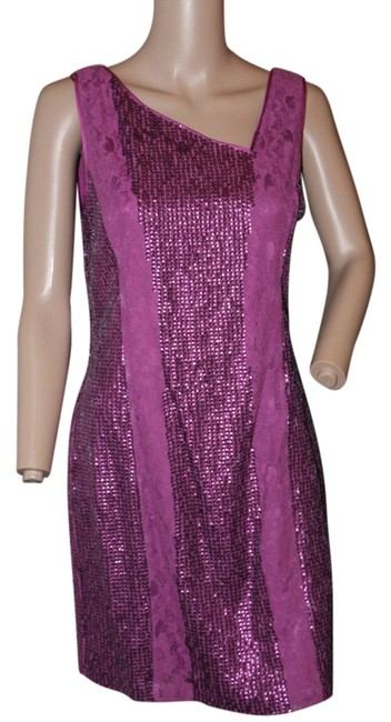 Preload https://img-static.tradesy.com/item/1405082/jessica-simpson-deep-pink-fushsia-by-sheath-lace-and-sequins-cocktail-knee-length-night-out-dress-si-0-1-650-650.jpg