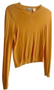 Liz Claiborne Golden Yellow Mustard Sweater