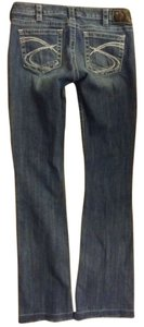 Silver Jeans Co. Co Tuesday Stitching Boot Cut Jeans-Medium Wash