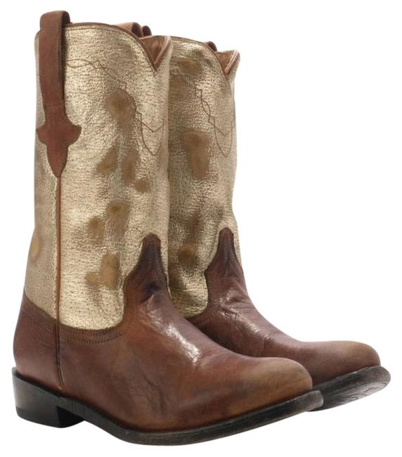 Ash Camel Jeff Leather Boots/Booties Size US 7.5 Regular (M, B) Ash Camel Jeff Leather Boots/Booties Size US 7.5 Regular (M, B) Image 1