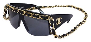 Chanel Chanel Drop Chain Trim Sunglasses Rare Vintage