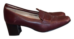 Talbots Burgundy Wine Pumps