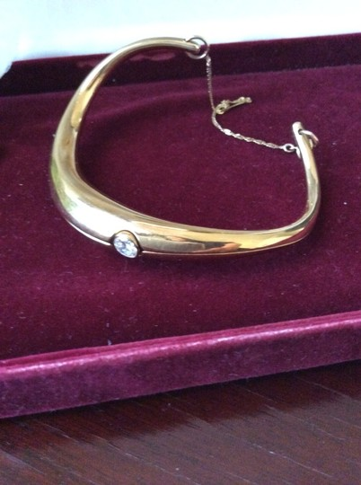 Other 18k Vintage .75ct Diamond Solitaire Bracelet