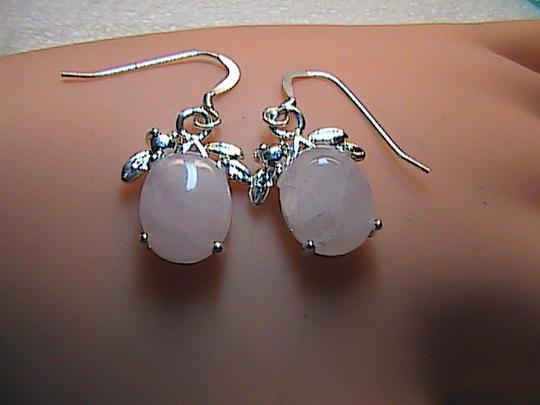 Unknown Sterling Silver Handcrafted Pink Quartz