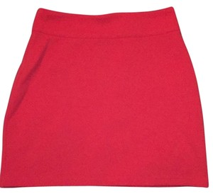 Silence + Noise Mini Skirt Coral