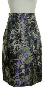 Teri Jon Brocade High-waisted Pencil Skirt Multi