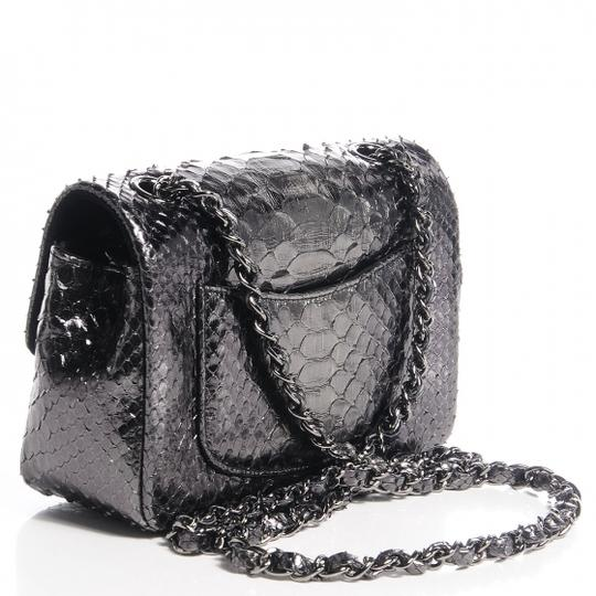6035cd00d7db Chanel Small Python Classic Flap Bag Price | Stanford Center for ...