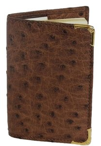 Gucci Genuine Ostrich Phone Book Card Holder