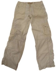 Abercrombie & Fitch Cargo Pants Beige