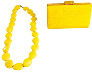 Bijoux Terner Yellow Clutch